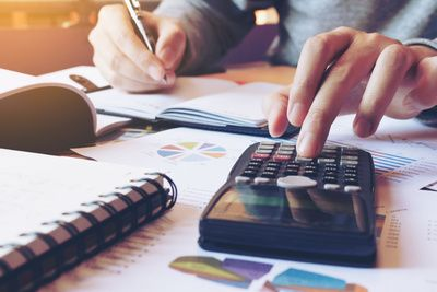 Deductibility of an expense at a later period