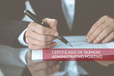 Ask for a Certificate of Administrative Silence