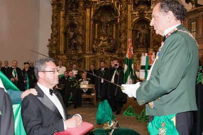 The Appointment of Mr. Francisco Guijarro as a Knight